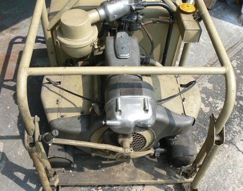 Zundapp Stromaggregat, GERMAN WWII GENERATOR