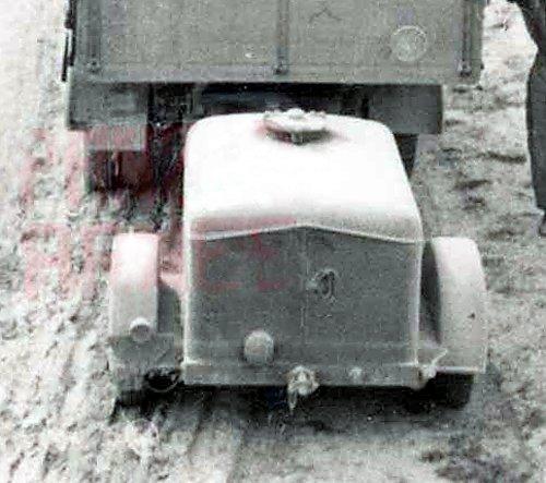 Wassertankanhanger, Luftwaffe, 1939