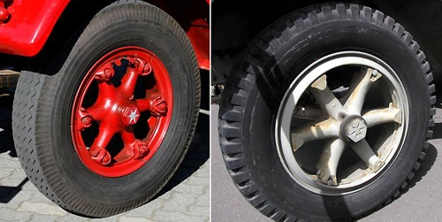 Opel Blitz Front Wheels of Early-War Type